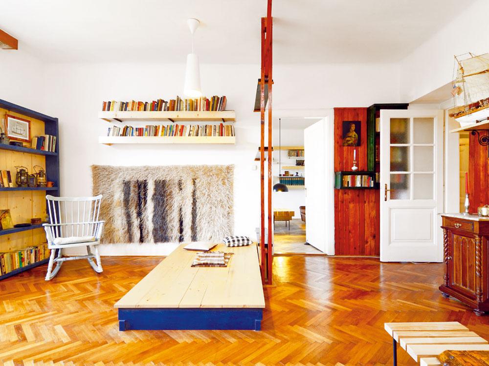 Pôsobivo zrekonštruovaný byt v bratislavskom Legiodome