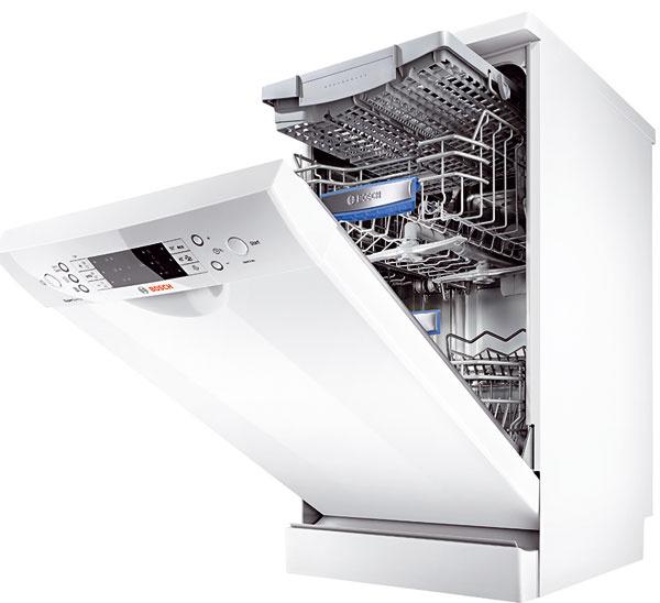 Umývačky riadu Bosch ActiveWater SPS 69T12EU, šírka 45 cm, 10 súprav, spotreba vody 8 až 9 l, energetická trieda A++, 689 €