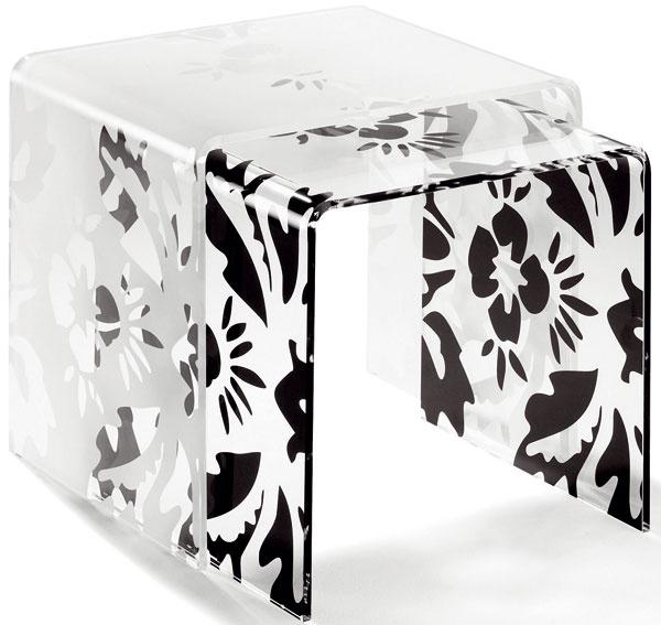 Súprava dvoch stolíkov Basel, organické sklo, 119 €, kika