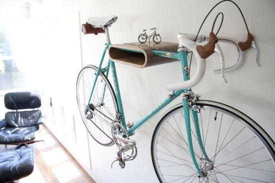 14 tipov, ako v byte uskladniť bicykel