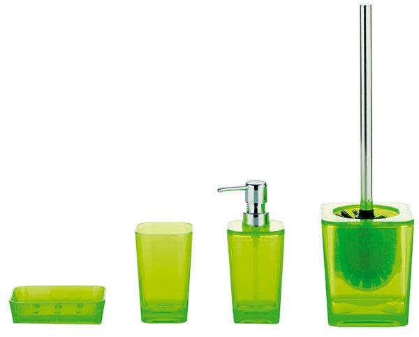 Kolekcia doplnkov do kúpeľne Kristall od firmy Kela, na výber v rôznych farbách. Cena od 2,70 €/ks. Predáva Nábytok Galan.