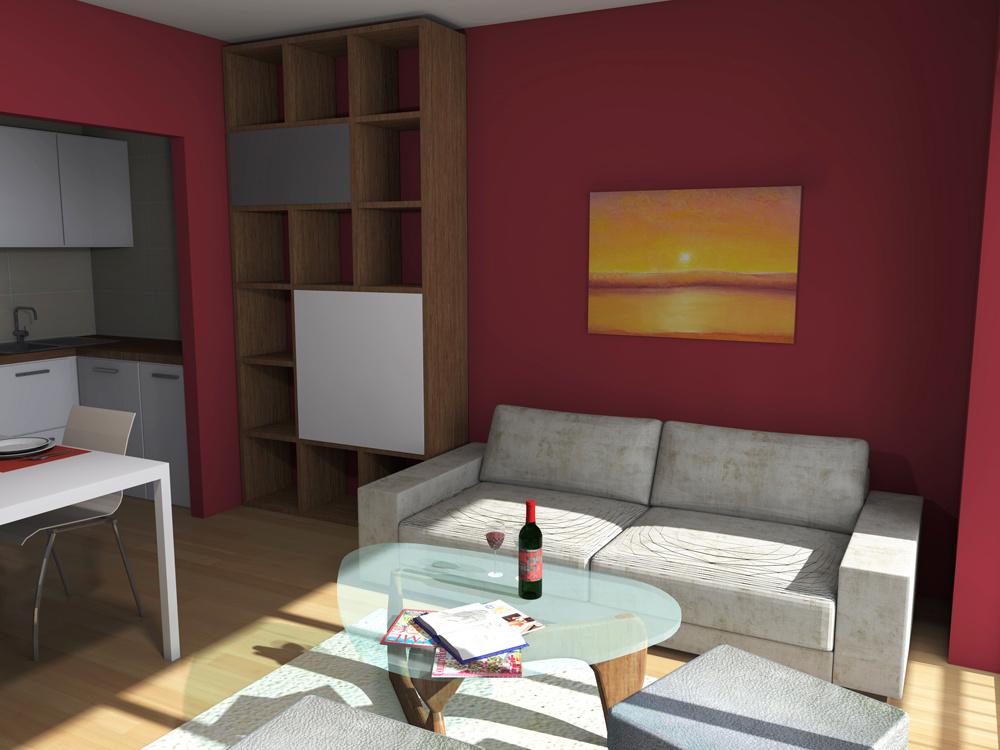 Ako zlúčiť obývaciu a jedálenskú časť v malom byte