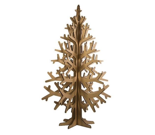 ... 3D kartónová maketa vianočného stromčeka ...