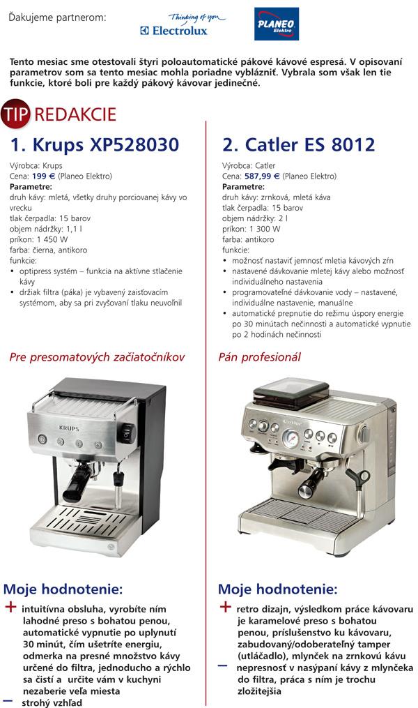 Kaviareň podomácky alebo ako dopadol test kávovarov
