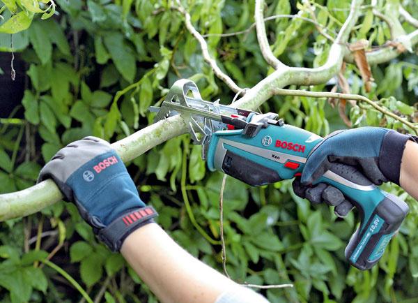 2. Záhradnou pílkou napíľte konáre dlhé 50 cm. Ak nechcete, aby nohy stolčekov smerovali kolmo kzemi, spíľte konáre trochu šikmo.  Konáre zkrútenej vŕby sa dajú po narezaní nožom ošúpať. Potom ich nechajte vyschnúť aspoň týždeň.