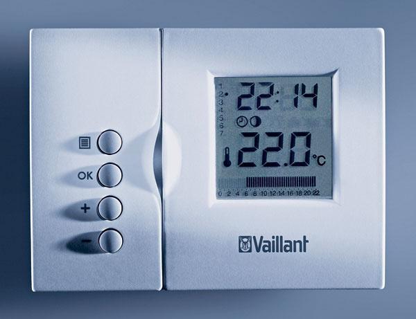 Priestorové termostaty umožňujú jednoduché riadenie vykurovania, ohrevu TV acirkulácie.