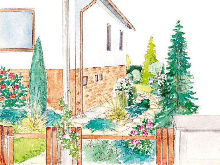 Ako sme navrhli záhradu dopodhorskej oblasti