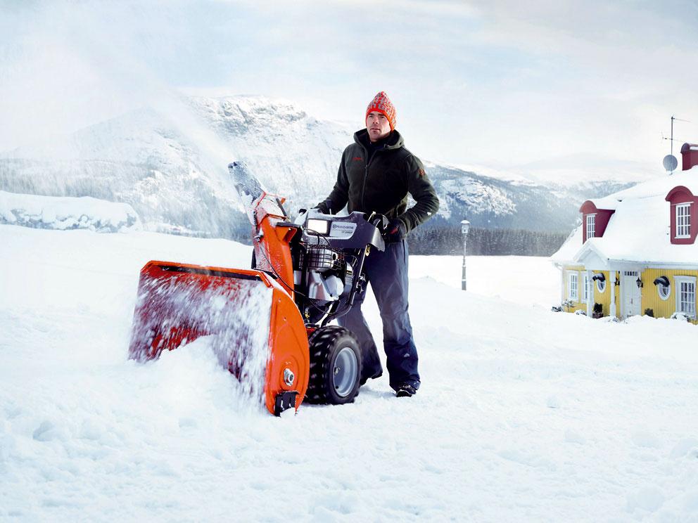 Vyberáme snežnú frézu
