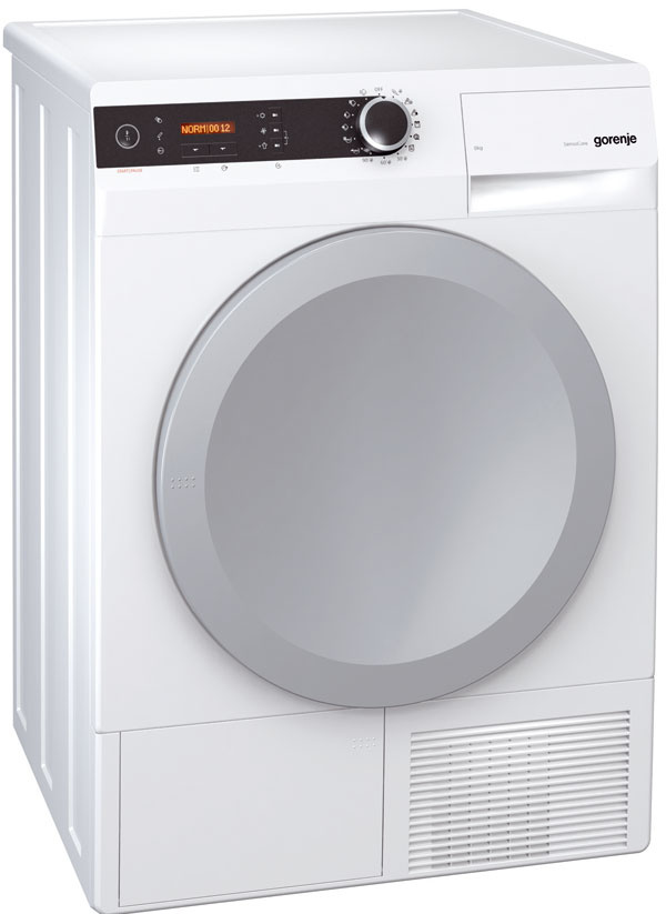 Sušička Gorenje D 7664 N typ: kondenzačná tepelné čerpadlo: áno kapacita: 7 kg energetická trieda: A–40 %  rozmery (š × v× h): 60 × 85 × 60 cm cena: 879 €