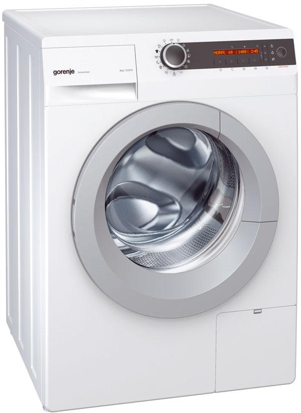 Práčka Gorenje W 7623 L kapacita: 7 kg špeciálna funkcia: BioWash na pranie ekologickým spôsobom, napríklad spracími guľôčkami BioBall účinnosť odstreďovania: B energetická trieda: A+++ rozmery (š × v× h): 60 × 85 × 60 cm cena: 449 €