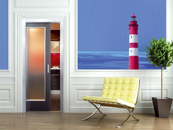 Posuvné dvere patria kzákladným trikom do malých bytov. Keďže sa neotvárajú do priestoru, znamenajú minimálne obmedzenia. Ich používanie je navyše nielen praktické, ale aj tiché.