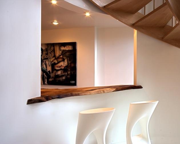 Ďalšia tvár funkčnej a efektnej jednoduchosti s využitím dreva.