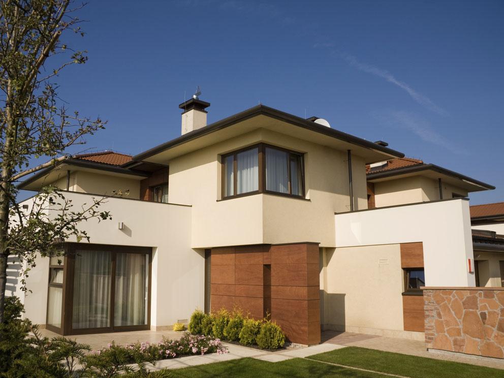 Fasáda rodinného domu je vizitkou majiteľa
