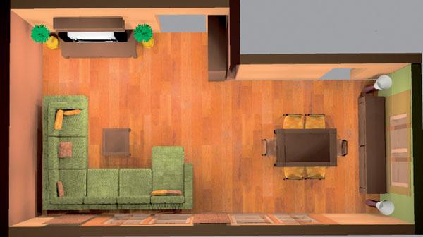 Obývačka ako prekvapenie