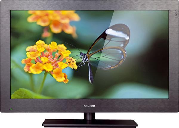 """Sencor SLE 3251M4  279 € (Planeo Elektro), Sencor, uhlopriečka 80cm (32""""), HD ready rozlíšenie 1 366 × 768, 3×HDMI, 1× USB, titánová farba, funkcia časového posunu Timeshift, časovač vypnutia, automatické vypnutie, detská poistka, možnosť zavesiť televízor na stenu (držiak nie je súčasťou balenia)  Moje hodnotenie: +cena, titánový povrch (na ktorom nevidieť prach), možnosť časového posunu –oproti ostatným televízorom tento má len priemerné rozlíšenie HD ready, neposkytuje možnosti 3D technológie, neponúka sieťové funkcie"""