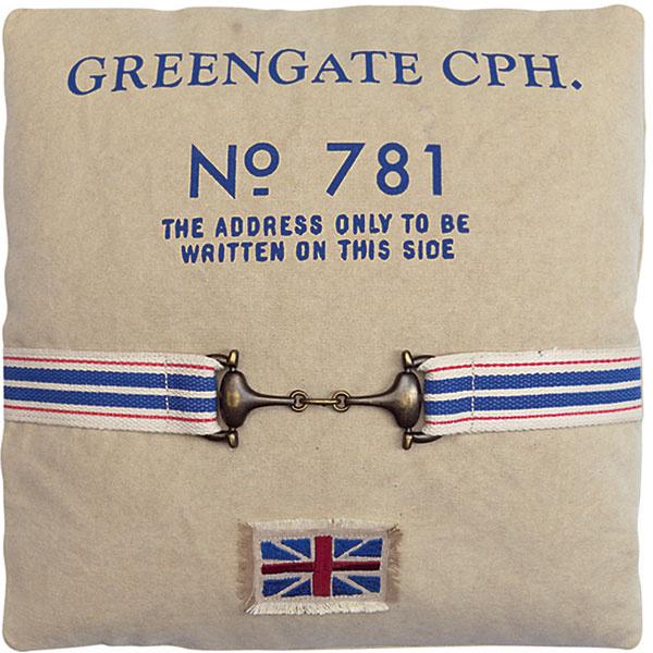 Poťah na vankúš Greengate 55,87 €, www.bellarose.sk