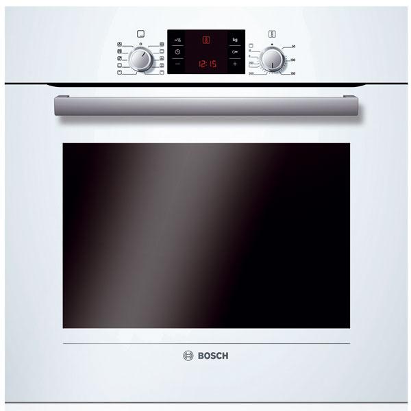 Zabudovateľná rúra Bosch HBA 34B520, pečenie smultifunkciou 3D plus (osem druhov ohrevu), samočistenie ecoClean, trieda A–20 %, objem 67 l, teplota 50 – 270 °C, AutoPilot 10.