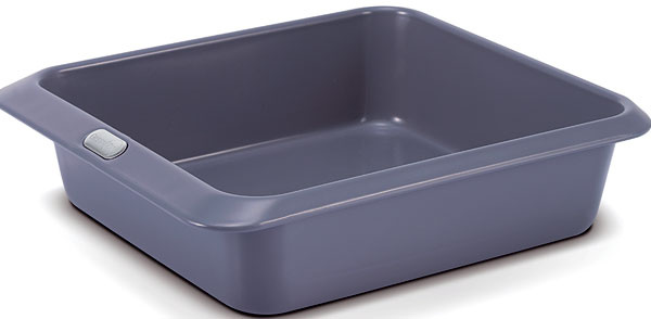 Zapekacia misa na lazáne Dubai od firmy GreenPan, kombinácia ocele ahliníka, nepriľnavý keramický povrch Thermolon neobsahuje škodlivé látky, 28 × 22 cm. Cena 43 €. Predáva vasekuchyne.sk.