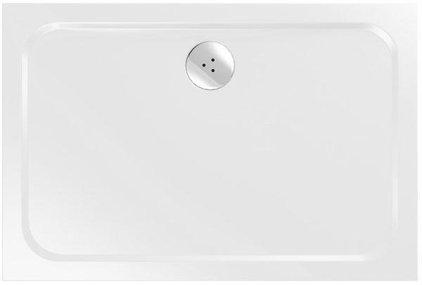 Liata vanička RAVAK Gigant 120 × 80 Chrome. Hladké dno umožňuje jednoduchú údržbu. Cena 378 €.