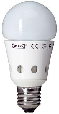 LED žiarovka Ledare, závit E27, 11,99 €, IKEA