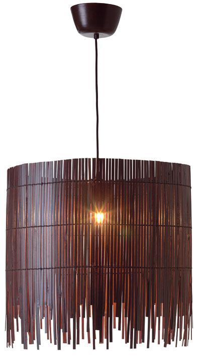 Závesná lampa Rotvik, bambus, dizajn: Jon Eliason, 49,99 €, IKEA