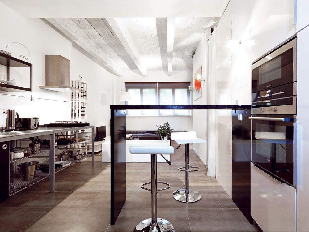 Rekonštrukcia malého bytu v industriálnom duchu