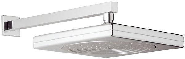 Hlavová sprcha Cubito od firmy Jika, chróm, funkcia Clean Touch na jednoduché čistenie, 25 × 25 cm. Cena 49,34 €. Predáva Dea.
