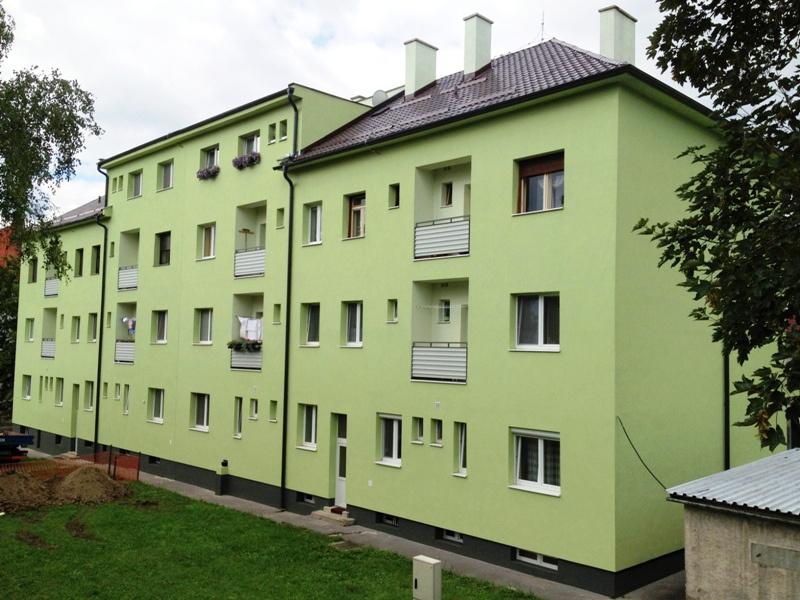 Bytový dom Zvolen – po rekonštrukcii