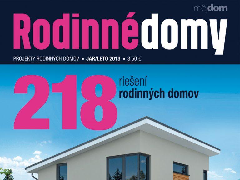 Katalóg RODINNÉ DOMY jar – leto 2013 v predaji