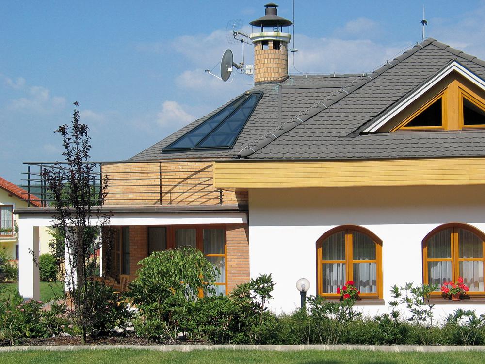 Ako si vybrať strechu na rodinný dom