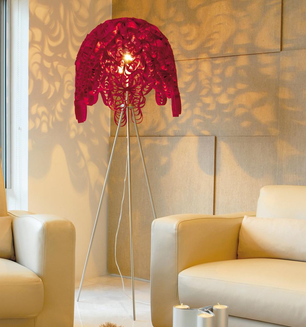 Najnovší trend – svietidlá, ktoré vytvárajú svetelné obrazce ascény na stenách miestnosti.