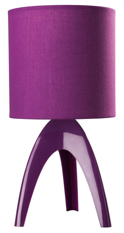 Stolová lampa Isaca odfirmy Massive, tienidlo z textilu, max. 40 W, 17 €, Feim
