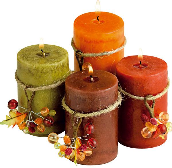 Aj vôňa navodzuje atmosféru... 🙂  Vonné sviečky Janina,6,99€/4 ks, JYSK