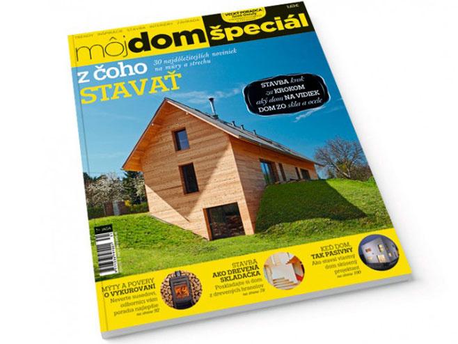 Časopis Môj dom špeciál/2013 v predaji