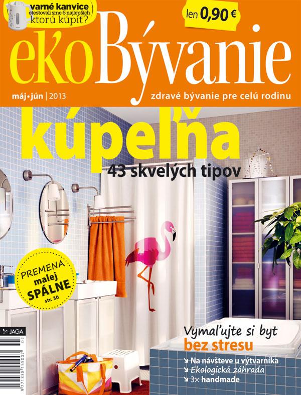 Nové číslo časopisu Môj dom ekoBývanie v predaji