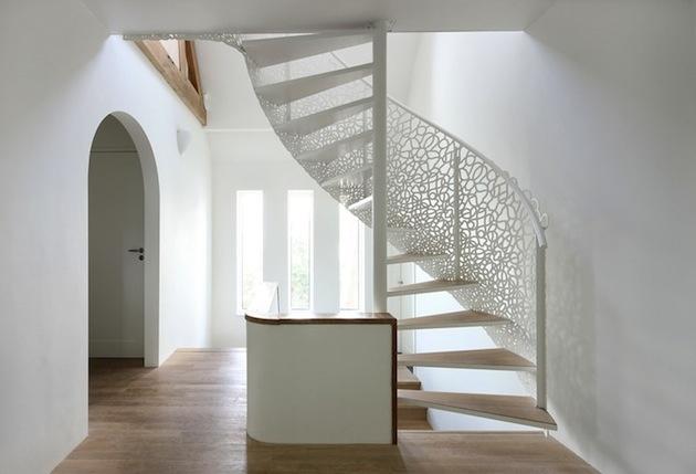 Točité schodisko nabralo vďaka dizajnérom úplne nový rozmer.
