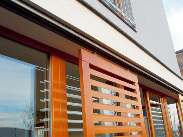 Okenice sú vhodnou formou ochrany súkromia. Pri priamom pohľade zvonku nie je vidieť do interiéru. K dispozícii sú krídlové, skladacie či posuvné okenice.