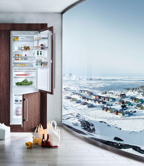 Chladnička Siemens KI34NP60 A ++, spotreba 240 kWh, objem 264 l, hlučnosť 39 dB, technológia NoFrost,  1377 €