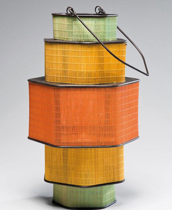Lampáš Bamboo, bambus, sklo, výška 79 cm, cena 54,90 €. Predáva Kare, Light Park