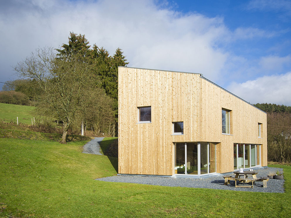 Pasívny dom s otvorenou dispozíciou