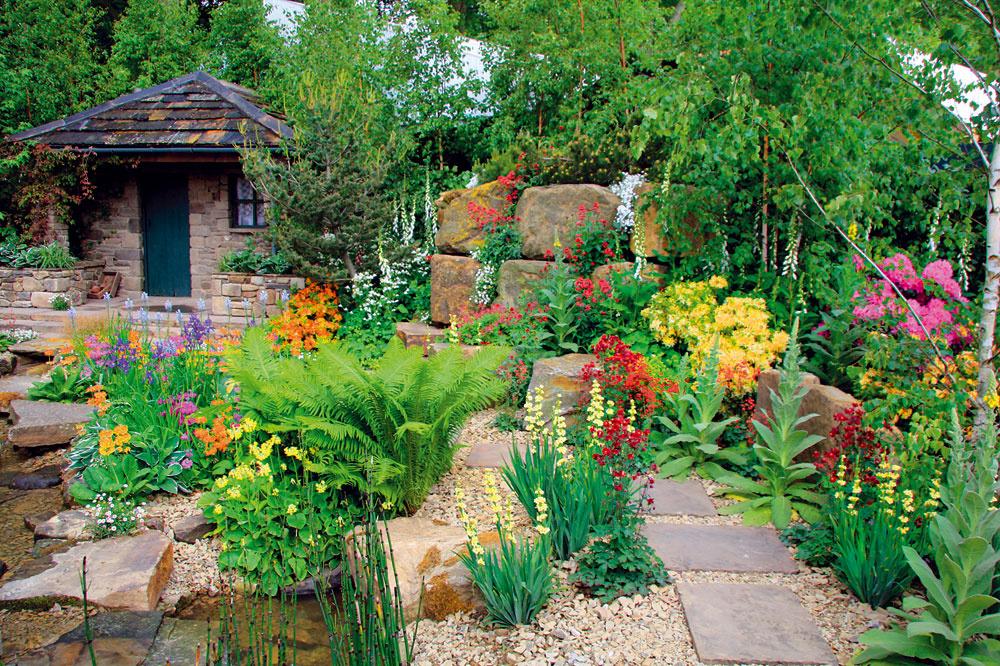 Aké rastliny do kamennej záhrady