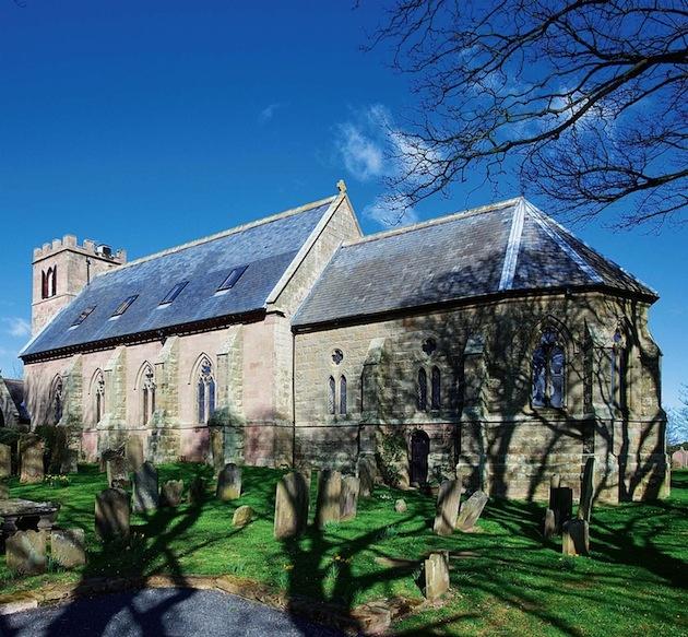 zrenovovaný kostol z 18 storočia