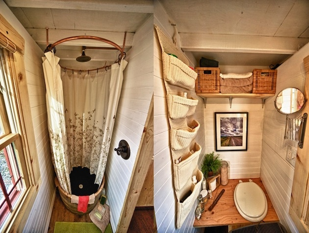 Sprchový kútik a WC