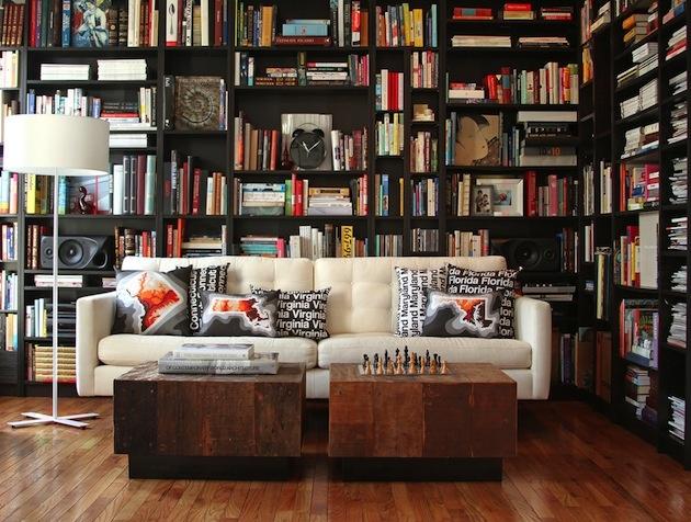 24 nevšedných tipov ako si doma zriadiť knižnicu