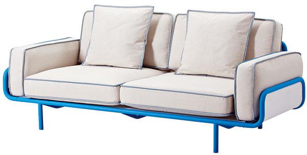 Trojpohovka IKEA PS 2012, 221 × 103 × 84 cm, 649 €, IKEA