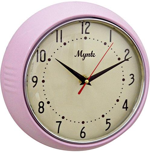 Hodiny Mynte light pink, priemer 24 cm, 36,15 €, www.bellarose.sk