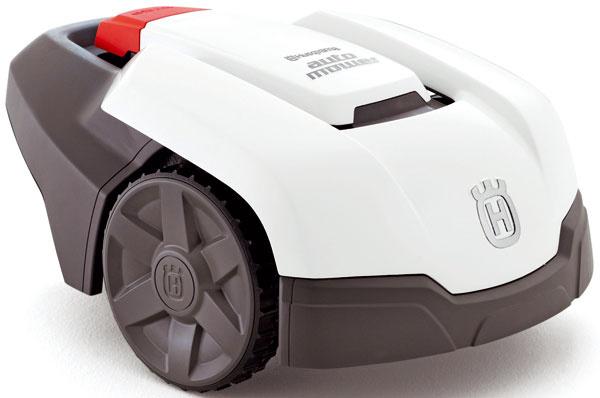 Robotická kosačka Husqvarna Automower® 305, alarm azamykanie pomocou PIN kódu proti ukradnutiu, 1 495 €