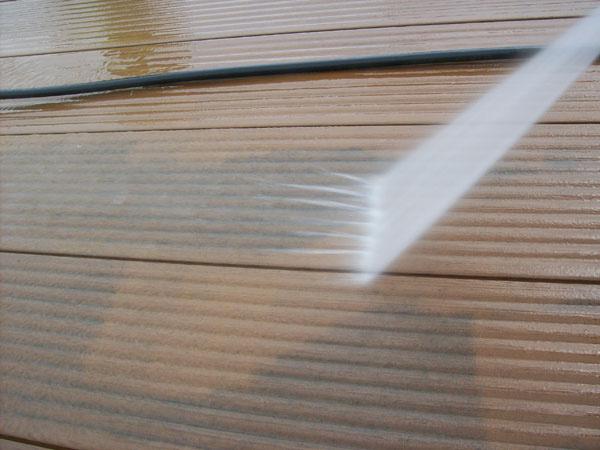 Správna technika čistenia – v smere drážok.