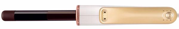 Kulma Rowenta Curl Activ CF6510D4 srotačným systémom, ktorý automaticky navíja vlasy okolo kulmy skeramickým povrchom. Dva smery otáčania, teplota od 180 do 210 °C, priemer kulmy 23 mm, príkon 45 – 52 W. Cena 70,90 €.