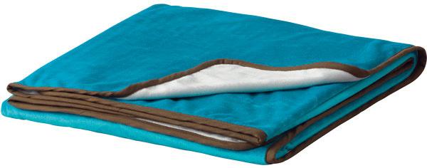Malin, deka, polyesterové mikrovlákno, 180 × 120 cm, 16,99 €, IKEA